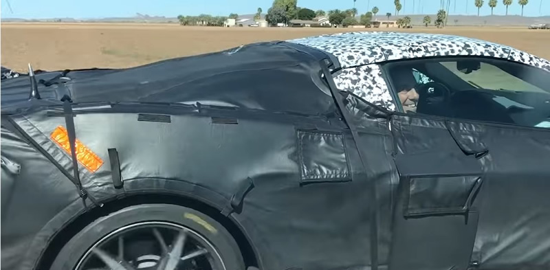 VIDEO – GM President Mark Reuss Spotted in a Mid-Engine Corvette