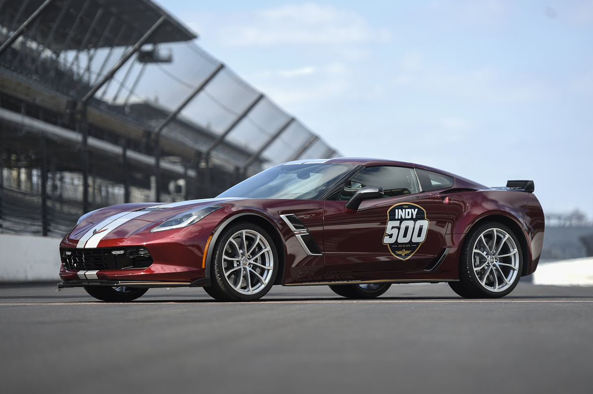 2019 Corvette Grand Sport will serve as the Official Pace Car for the 2019 Indianapolis 500