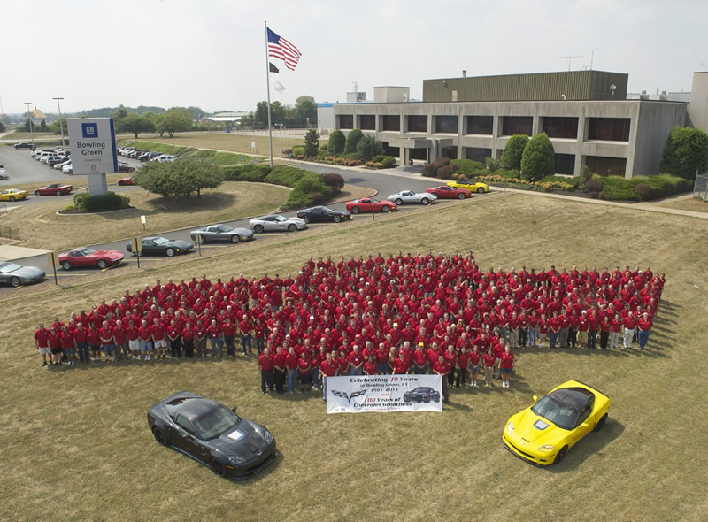 GM Set to Make Major Announcement about Bowling Green Corvette Assembly Plant