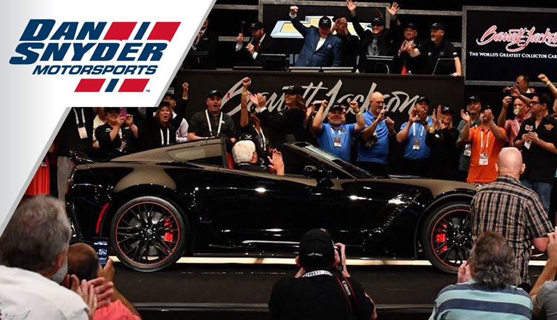 Dan Snyder Motorsports Wins the Last C7 Corvette with $2.7 Million Bid