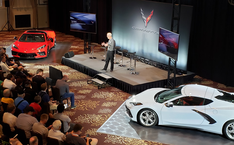 Concours d'Elegance of America Held in Michigan with the 2020 C8 Corvette