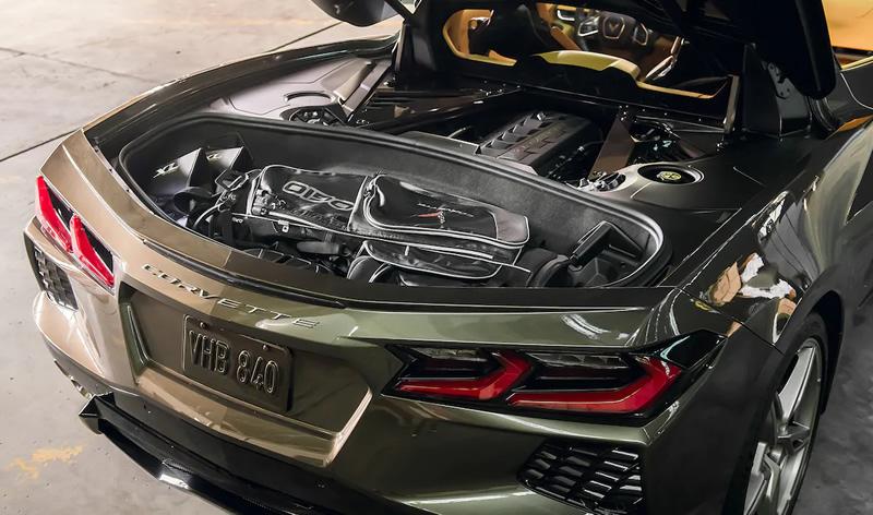 2020 C8 Corvette Utilizes Revolutionary Carbon Fiber Bumper Beam