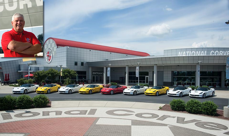 Outgoing Executive Director Wendell Strode Named to National Corvette Museum Hall of Fame
