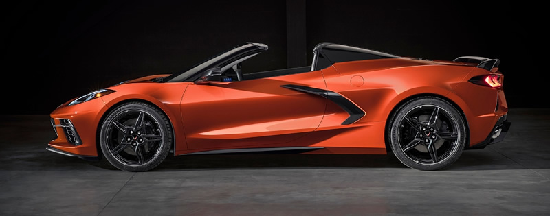 Chevrolet Unveils 2020 Corvette Stingray Convertible and C8.R Race Car