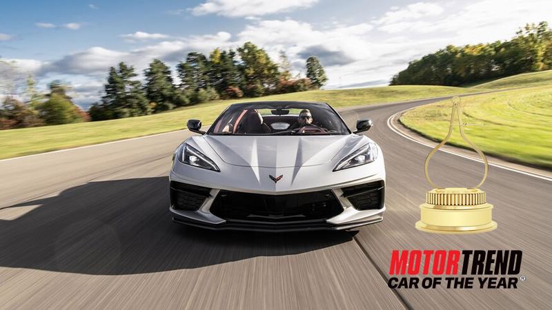 2020 Corvette Stingray Wins Motor Trend's Car of the Year Award