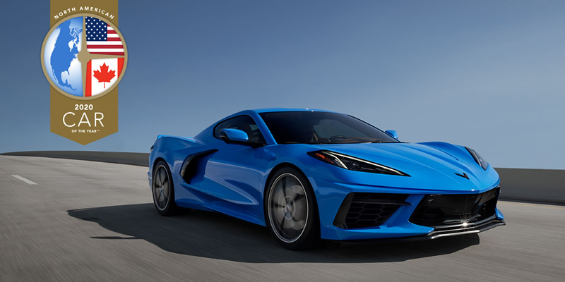 2020 Chevrolet Corvette Wins North American Car of the Year Award