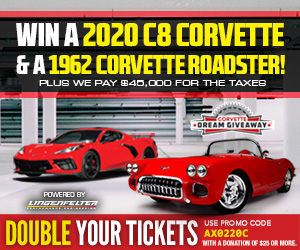 Win Both Corvettes and Get Extra Bonus Tickets Now!