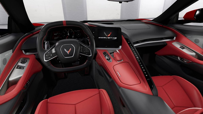 The Art That is The All New 2020 C8 Corvette Interior