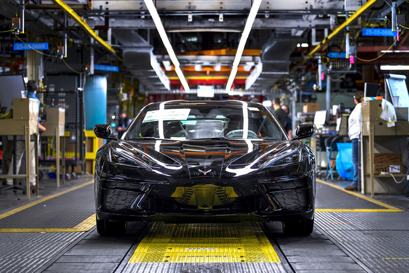 2020 Corvette Production Could Resume on May 18th