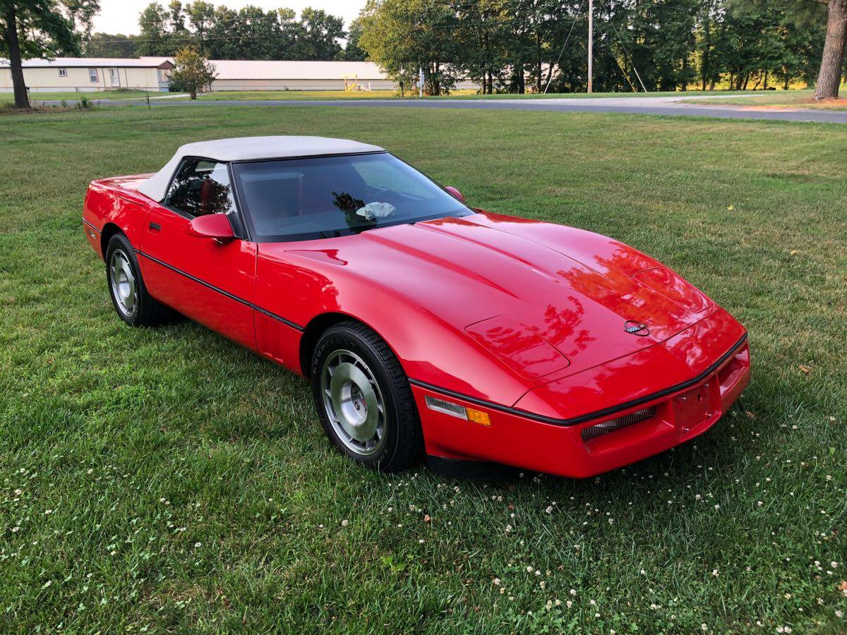 Craigslist Find 1987 Corvette With Only 2 450 Original Miles