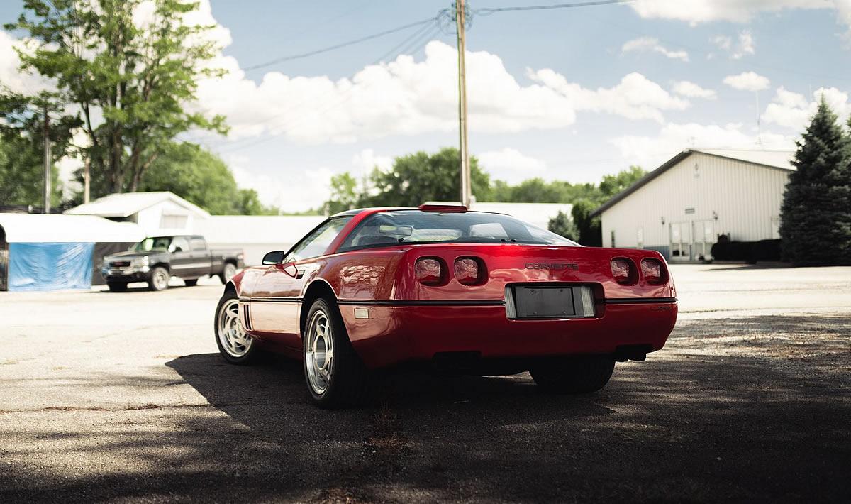 [SURVIVOR] 1990 Corvette ZR-1 For Sale with Only 92 Miles!