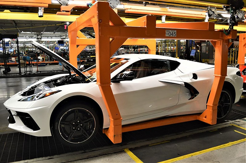 Order and Production Updates for the 2020 Corvette and 2021 Corvette