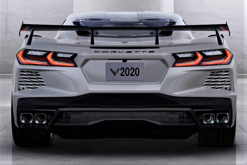 GM Confirms 2020 Corvette Orders Will Not Receive High Wing Spoiler Option