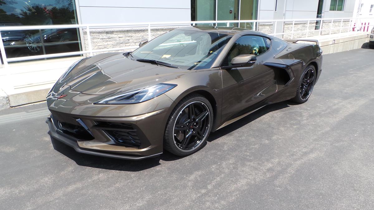 [PICS] First 2020 Corvette in Zeus Bronze Metallic Arrives at MacMulkin Chevrolet