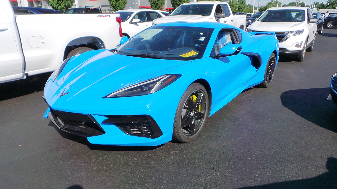[PICS] First 2020 Corvette in Rapid Blue Arrives at MacMulkin Chevrolet