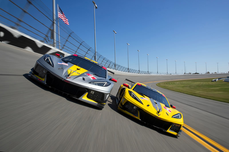 Corvette C8.R Scores First Victory at Daytona on July 4th