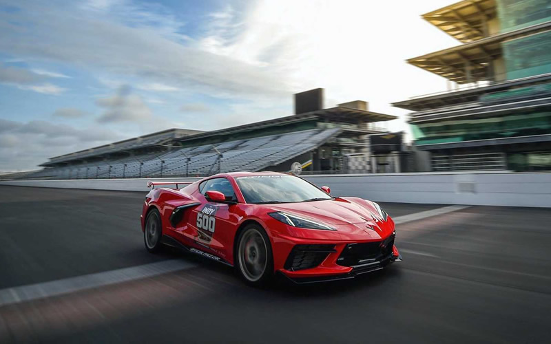 2020 Corvette Stingray to Pace This Year's Indianapolis 500 Race