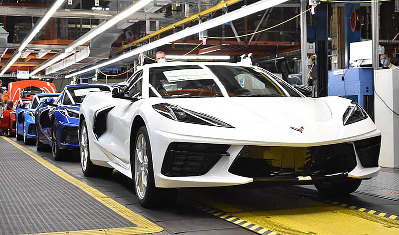 2020 and 2021 Corvette Production to Run in Tandem in November