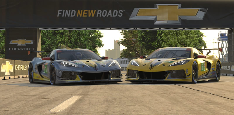 The Corvette C8.R is now Available on iRacing