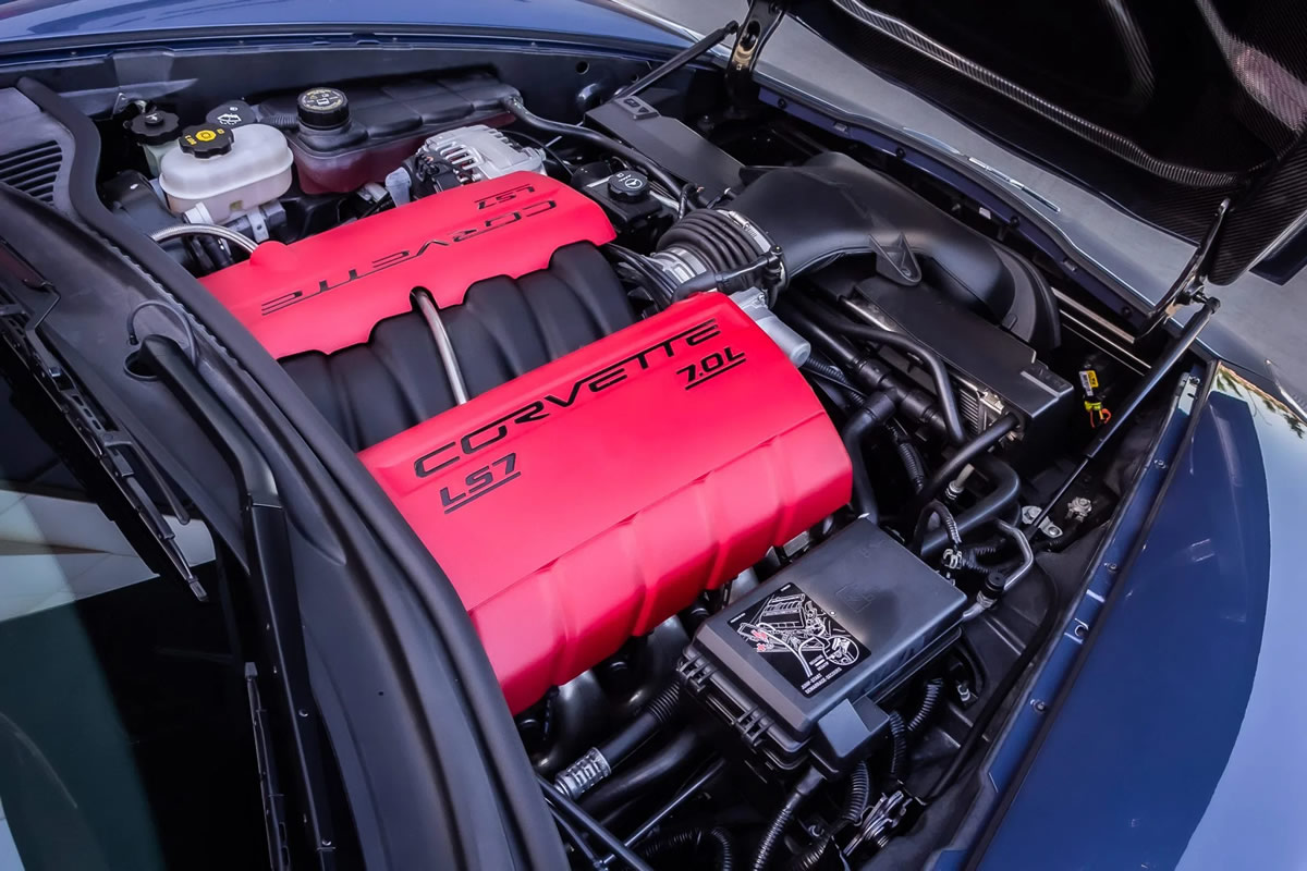 2011 Corvette Z06 LS7 Engine