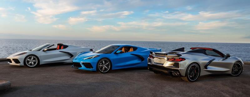2021 Corvette Lineup