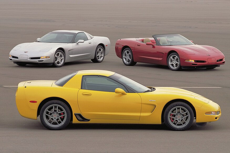 C5 Corvette Coupe, Convertible and Z06