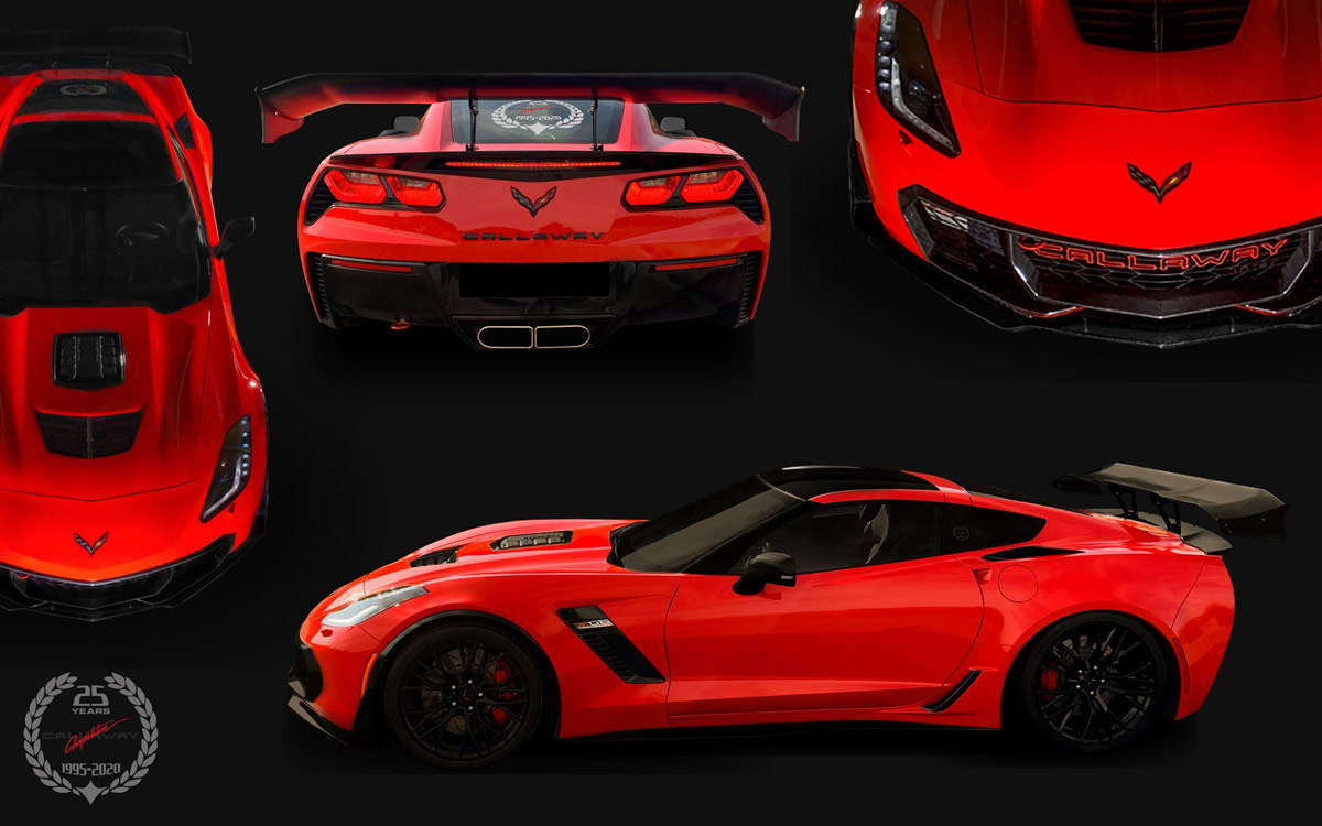 Callaway Competition 25th Anniversary Edition Corvette