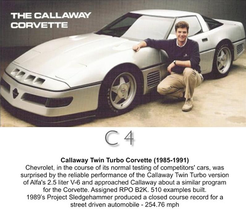 Callaway Sledgehammer Corvette