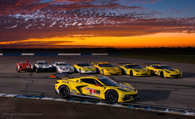 Eight Generations of Corvette Racing