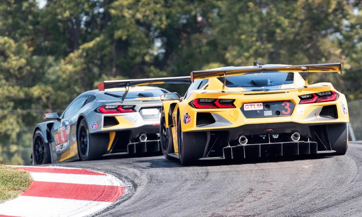 Corvette Racing C8.R #3 and #4