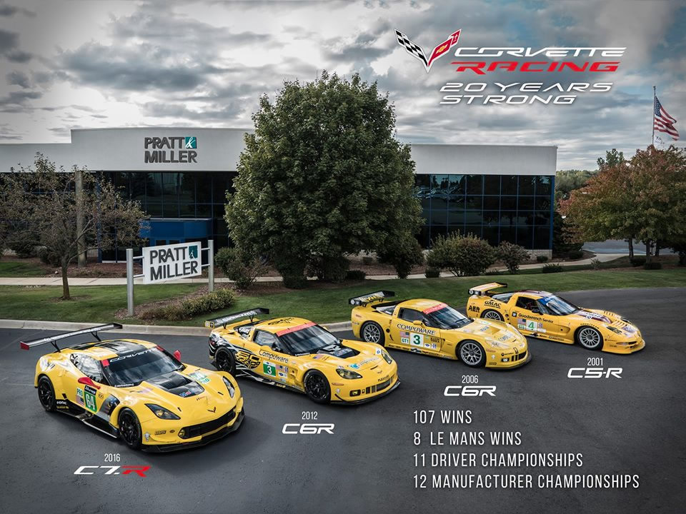 Corvette Racing Team Wins