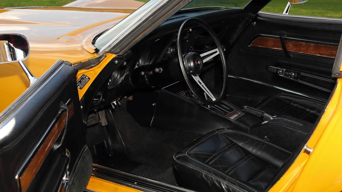 1972 Corvette Serial No. 001 - Interior