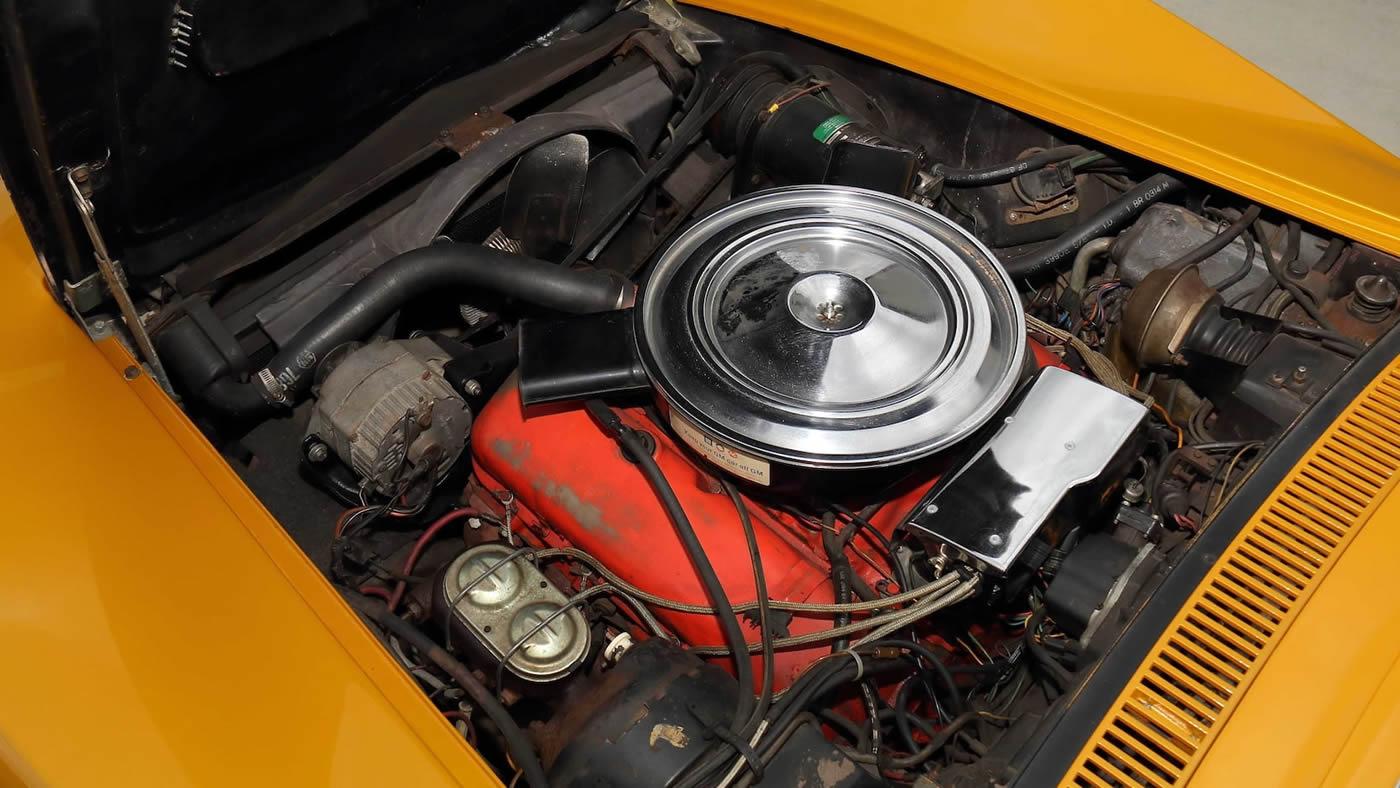 1972 Corvette Serial No. 001 - 454 LS5 Engine