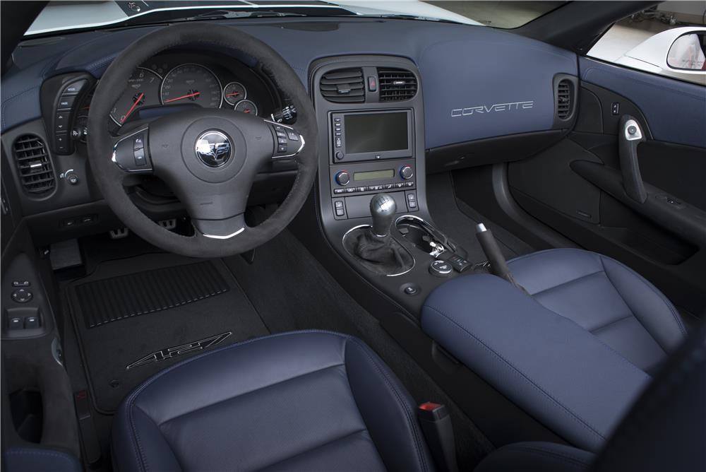 2013 Corvette Collector's Edition Interior