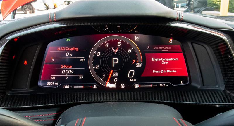 2020 Corvette Digital Instrument Cluster