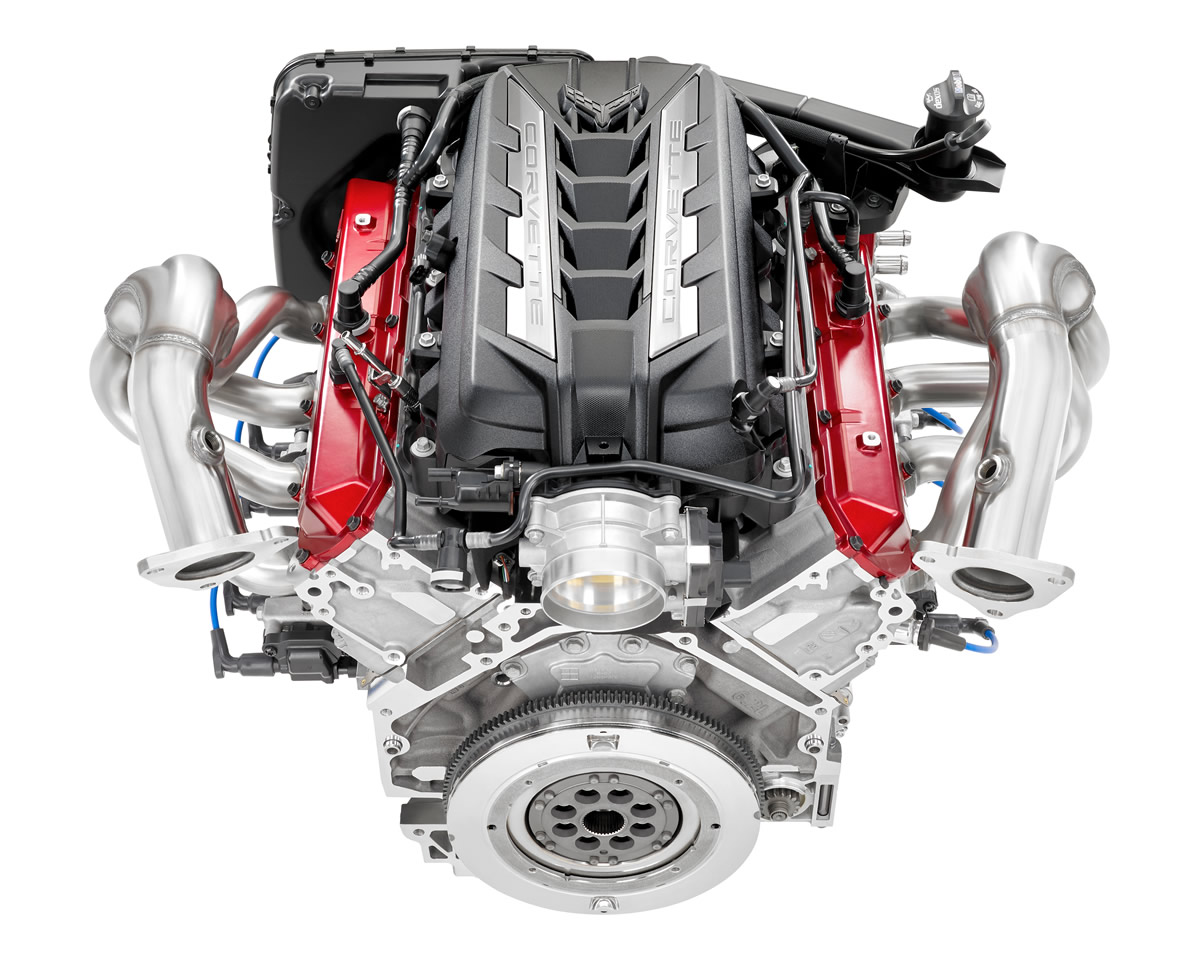 2020 Corvette LT2 Engine