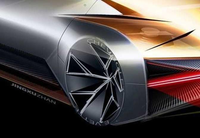 Chevrolet E-Vette - Closeup