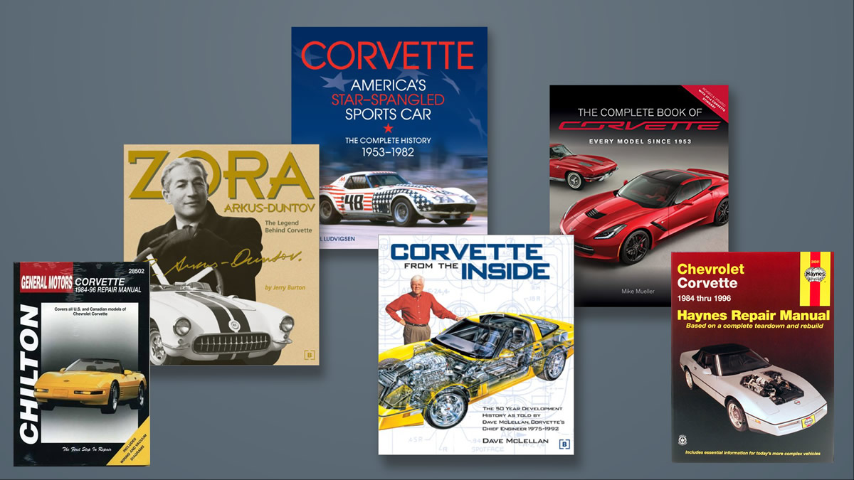 Corvette and Automotive Books and Periodicals