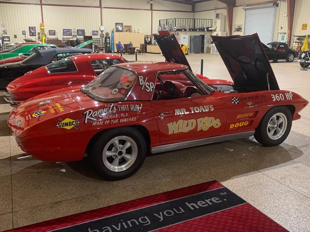 1963 Corvette Pilot Line Car - Number 18
