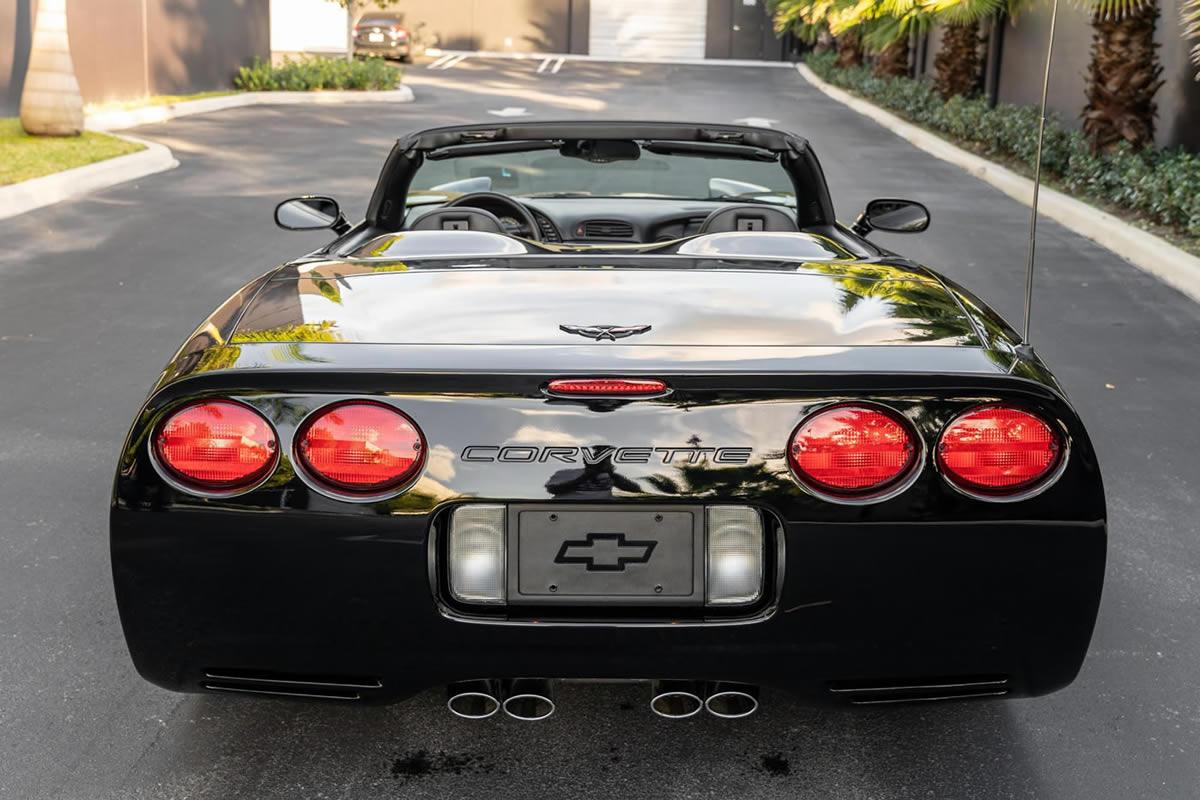 2002 Corvette convertible in Black