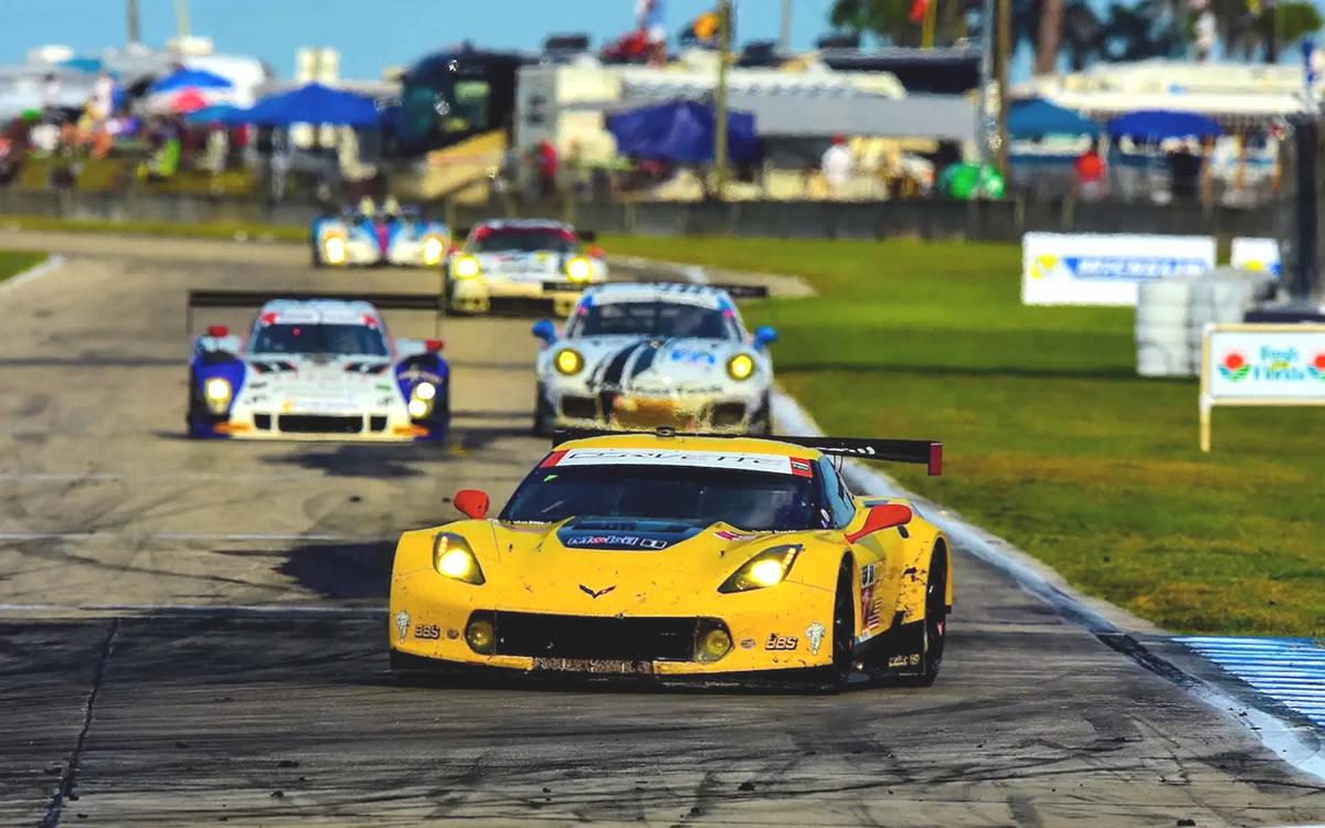 2014 Corvette C7.R GT No. 3 Factory Race Car by Pratt & Miller
