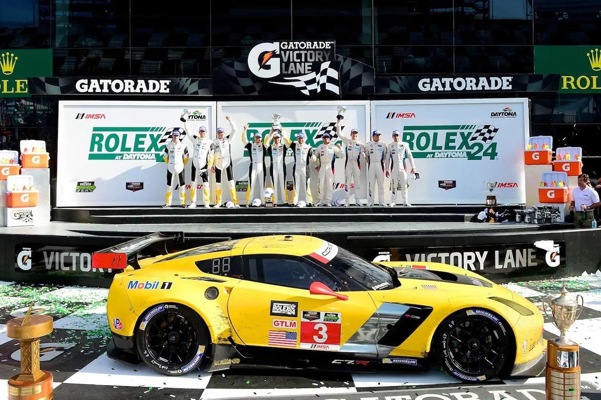 2014 Chevrolet Corvette C7.R GT Factory Race Car by Pratt & Miller