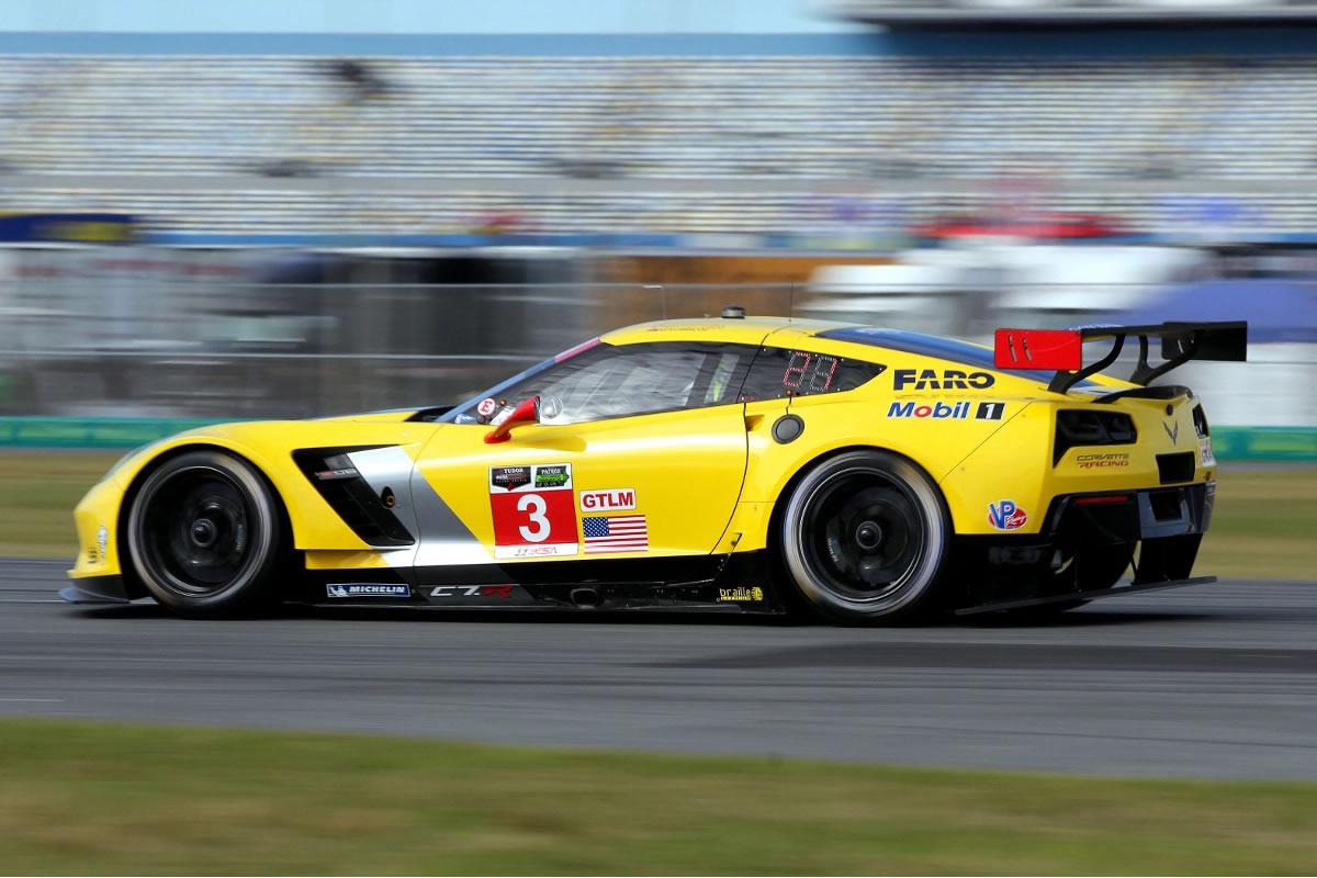 Number 3 Corvette C7.R Factory Race Car