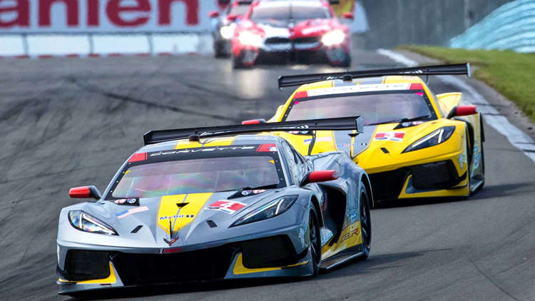 Corvette C8.R Wins at Watkins Glen