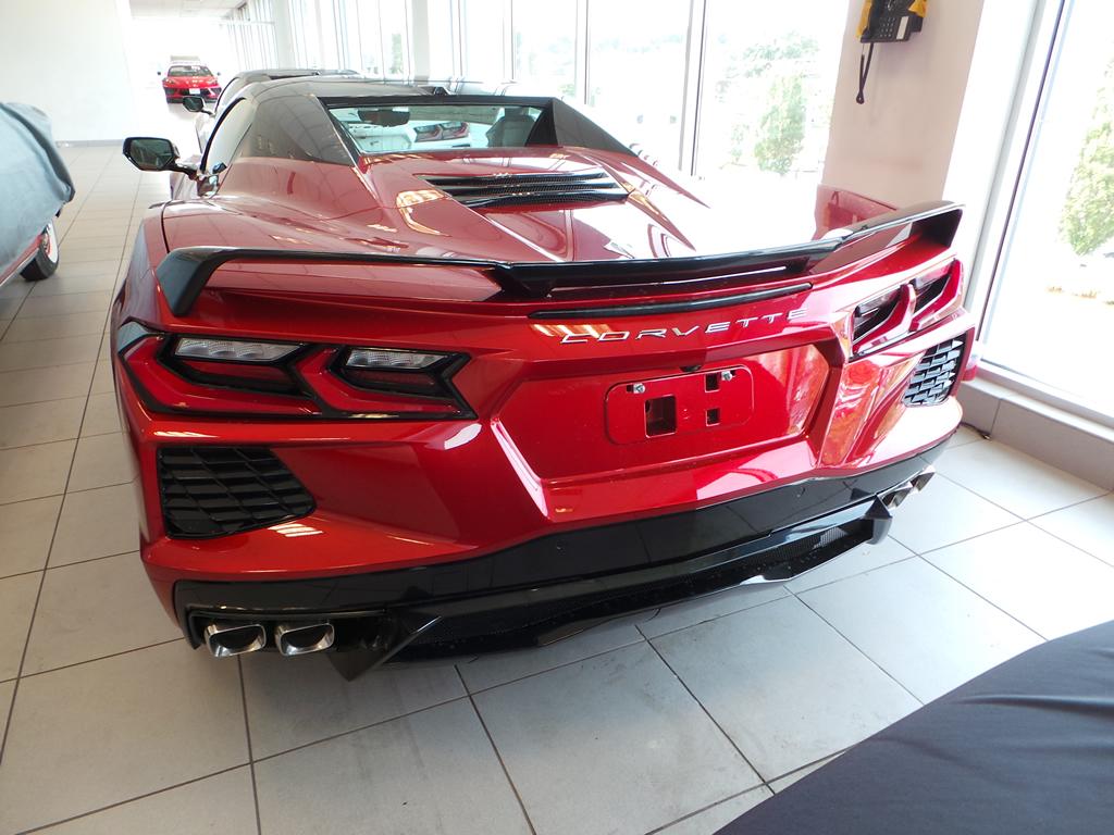 2021 Corvette Z51 Spoiler Red Mist