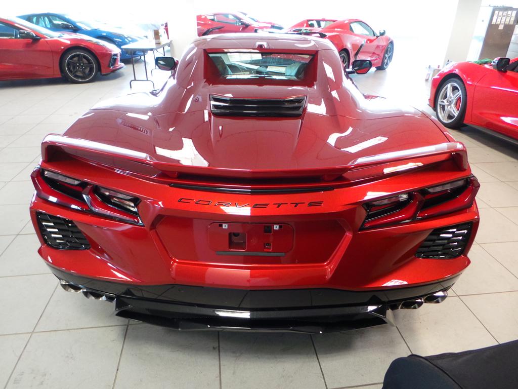 2021 Corvette Convertible Red Mist Z51 Spoiler