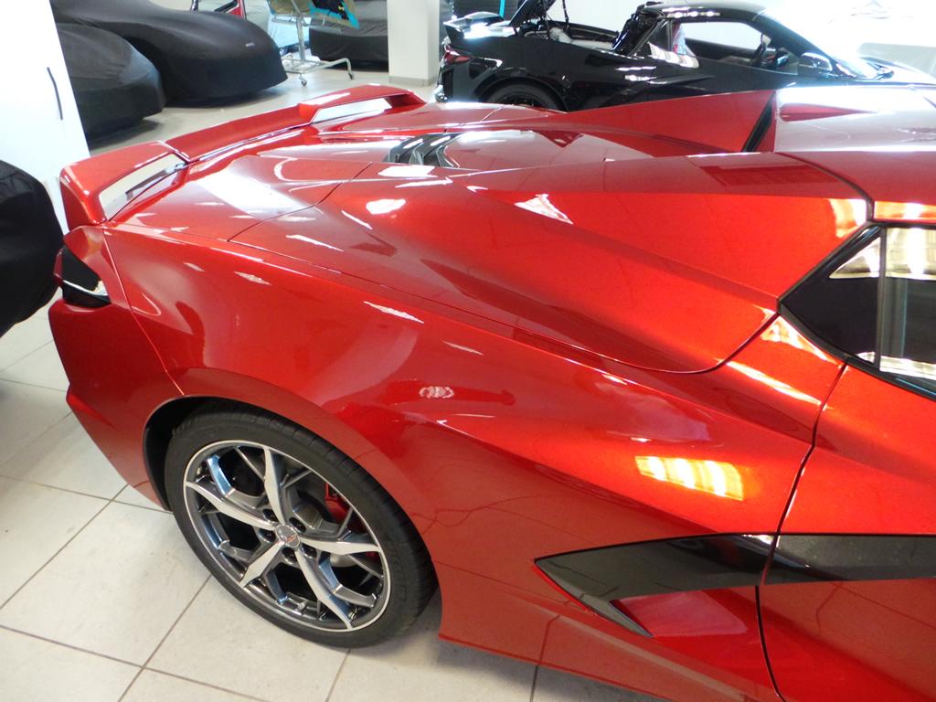 2021 Corvette Convertible Z51 Spoiler Red Mist